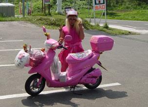 Hello Kitty motorok