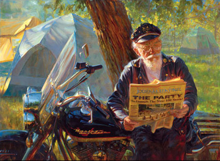 David Uhl festmények
