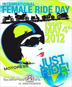 Nemzetközi Női Motoros Nap 2012 május 4.