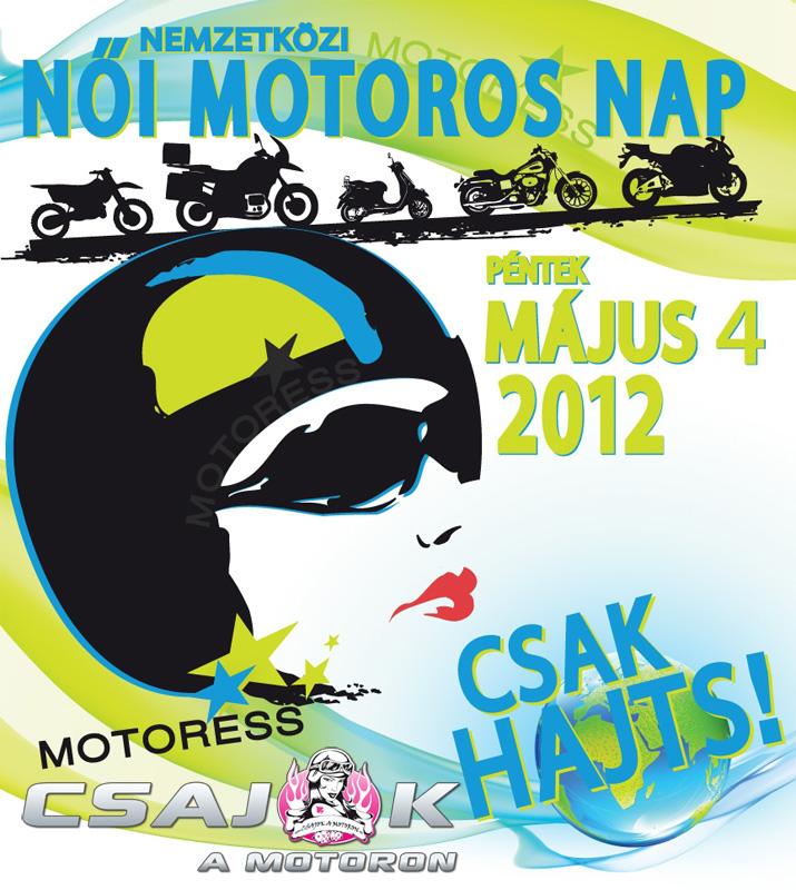 6. Nemzetközi Női Motoros Nap