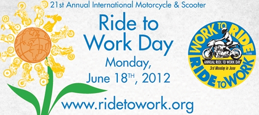 21. Ride to Work Day