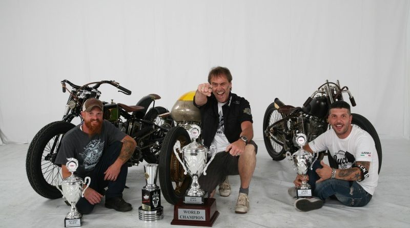 9th AMD World Championship of Custom Bike Building Freestyle Top 3.
