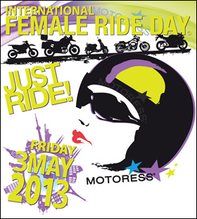 International Female Ride Day 2013 Logo