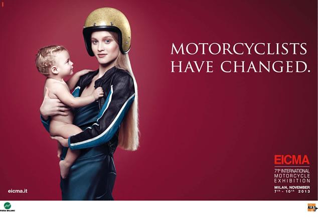 71. EICMA - A motorosok megváltoztak - Motorcyclists have changed