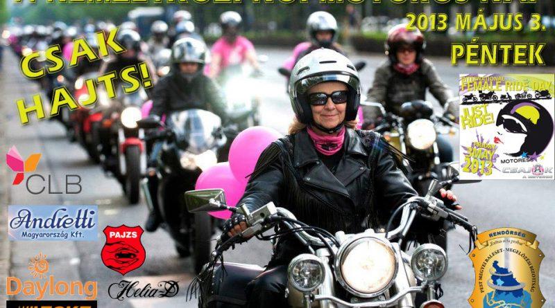 7. Nemzetközi Női Motoros Nap
