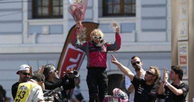 camelia liparoti dakar 2014 finish 2