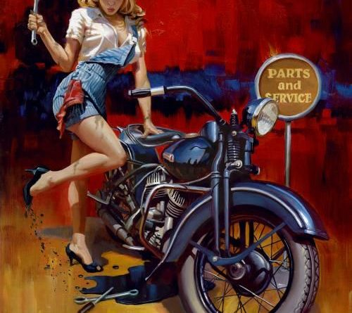 david uhl motorszerelo pin up csaj