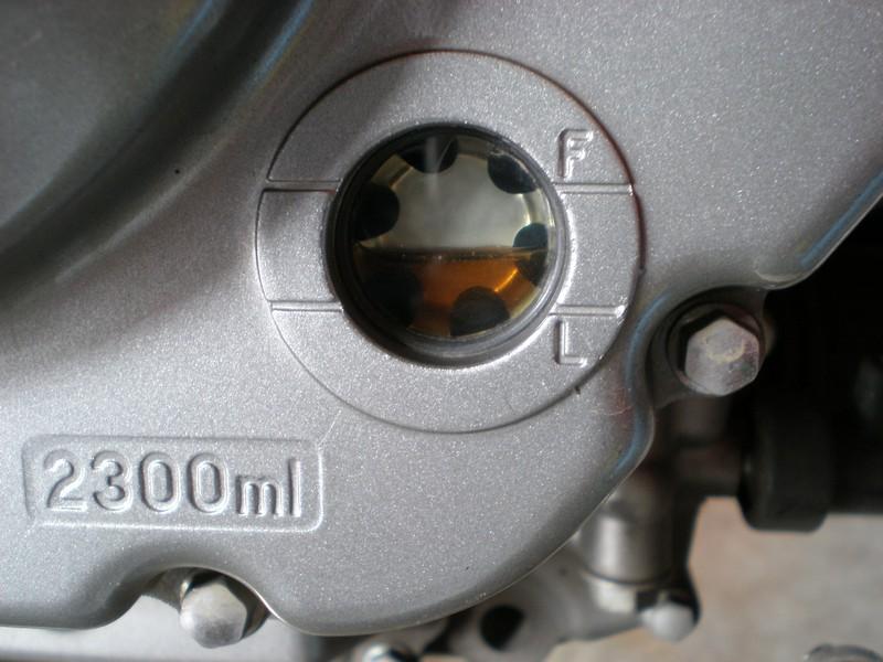 sv650 alacsony olajszint