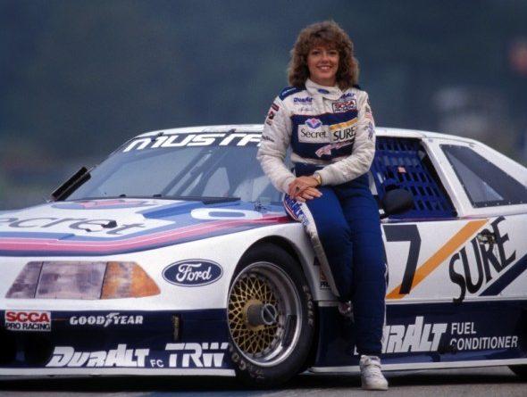Lynn St James Ford Mustang 1989