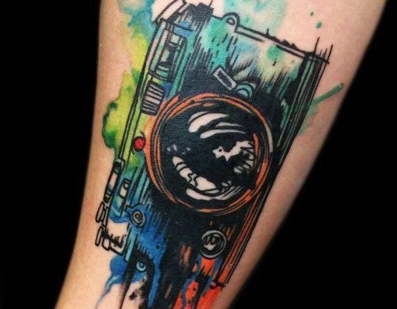 Krizsán Lili Wonderland Tattoo