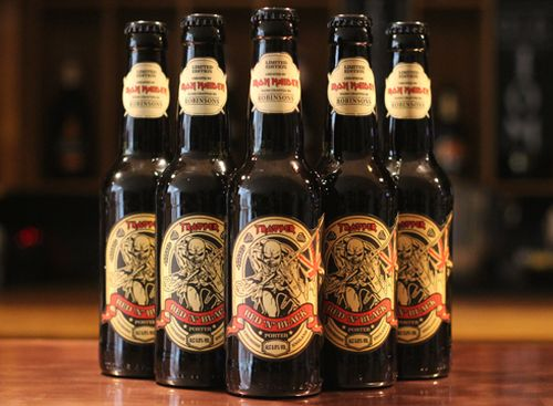 iron maiden red n black beer