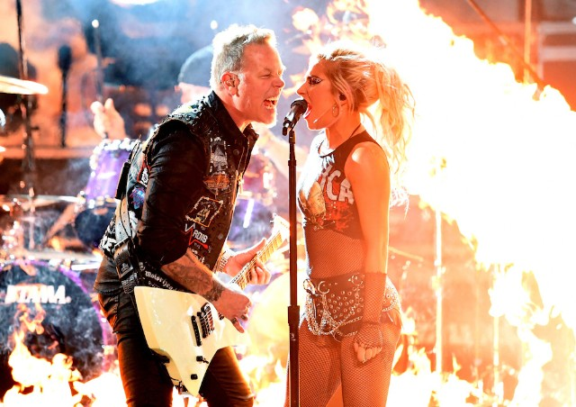 grammy 2017 metallica lady gaga