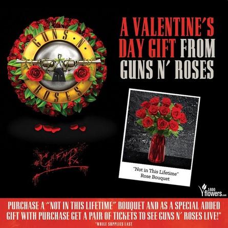 guns n roses valentin day