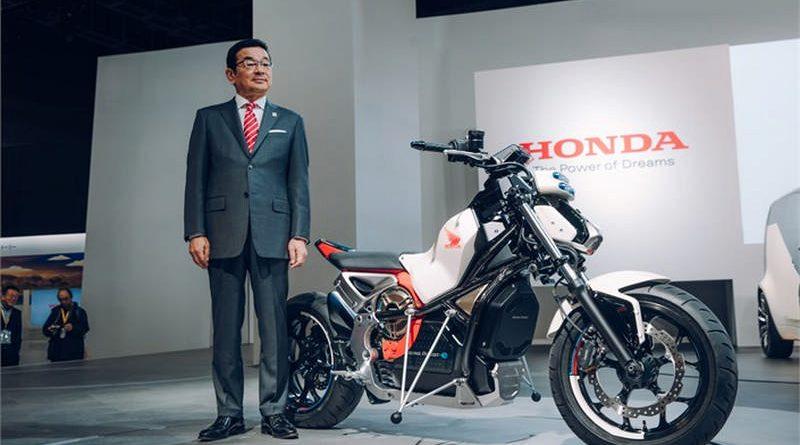 117537 Honda at Tokyo Motor Show 2017