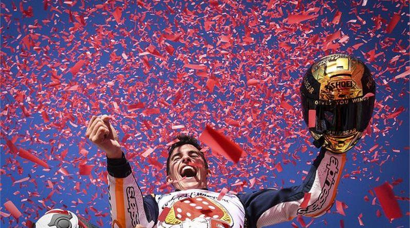 123640 Marc Marquez wins the 2017 MotoGP World Championship