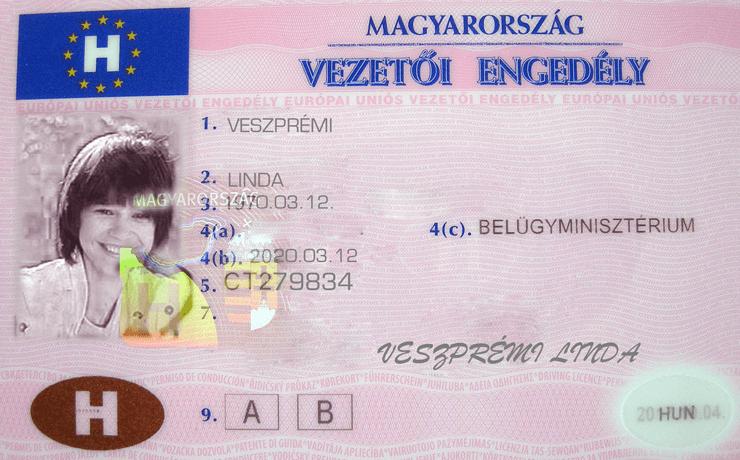 A jogosítvány