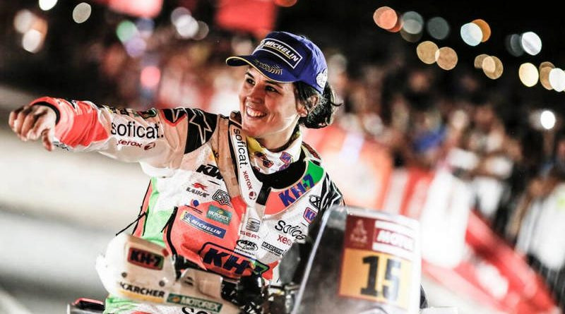 dakar rally Laia Sanz 2018 finall 01