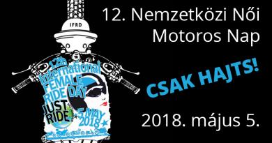 12 nemzetkozi noi motoros nap 2018