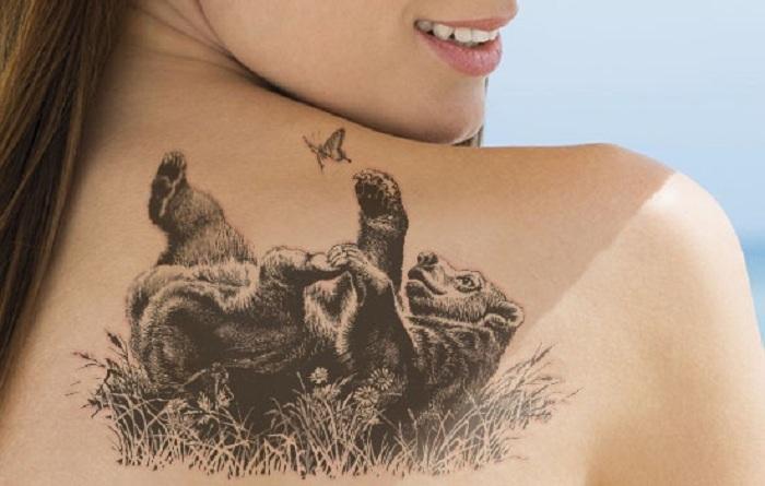 medve tetovalas