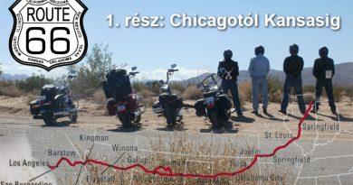 route 66 motoros tura 1