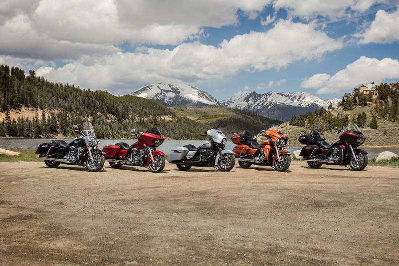 harley davidson Touring line up