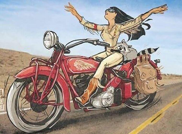 Pocahontas motor