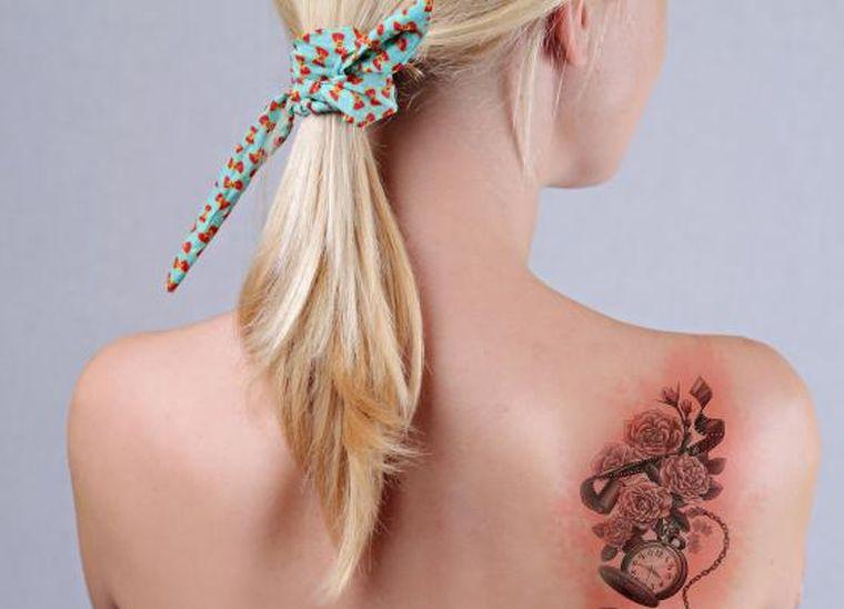mri tattoo girl