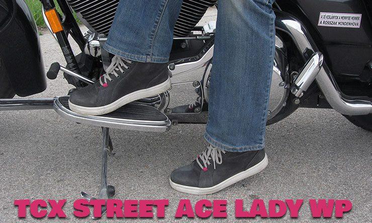 tcx street ace lady noi motoros cipo cimlap