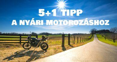 5 tipp nyari motorozashoz