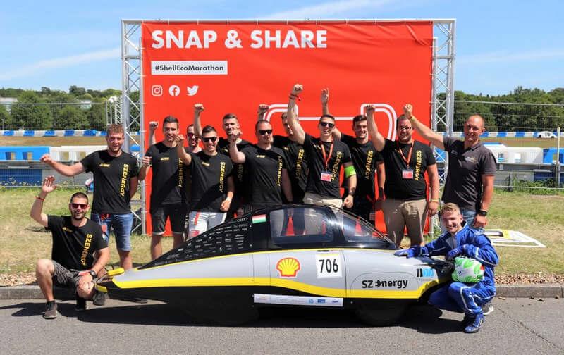 SZEnergy Shell Eco marathon 1
