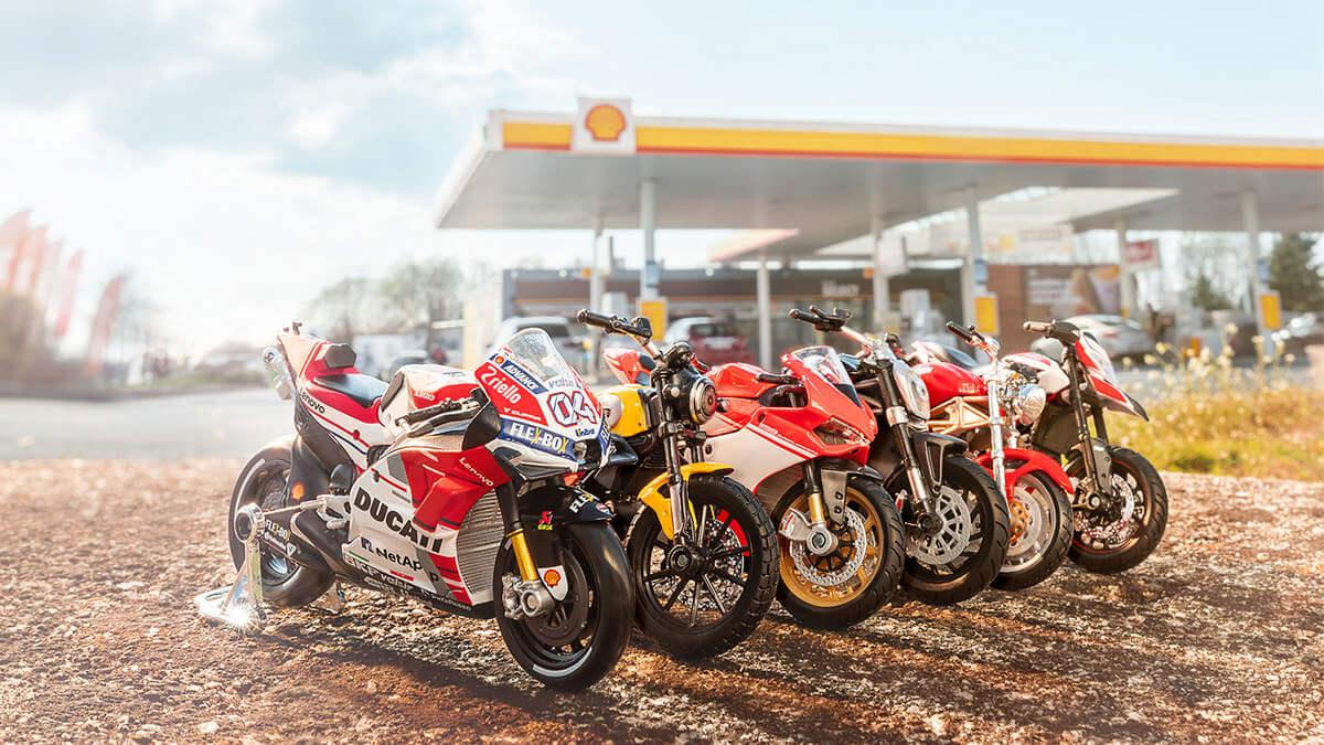 Shell Scrambler Ducati Icon