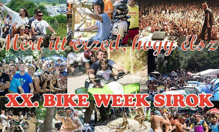 xx sirok bike week 2019