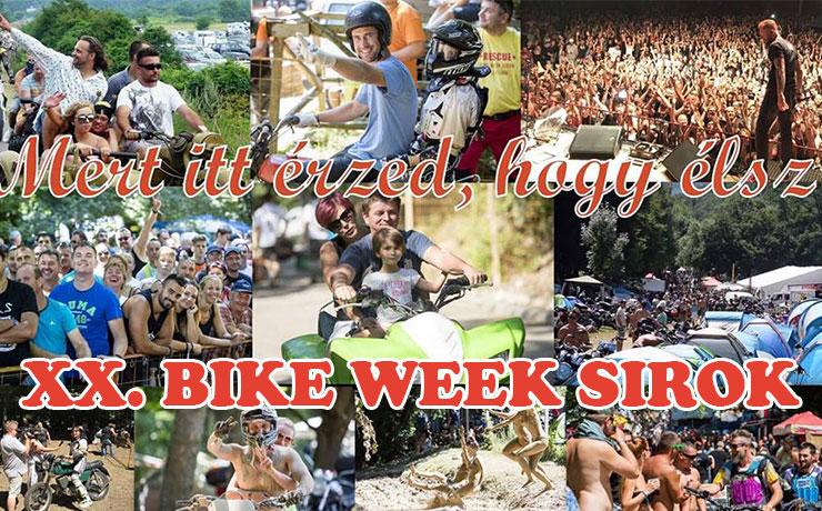 xx sirok bike week 2019