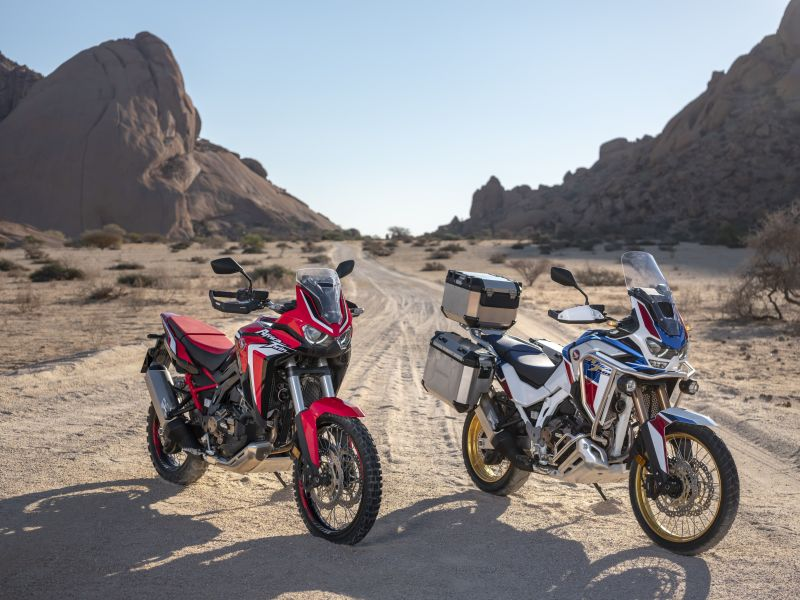 Honda Africa Twin and Africa Twin Adventure Sports
