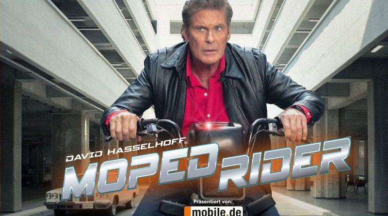 david hasselhoff moped rider