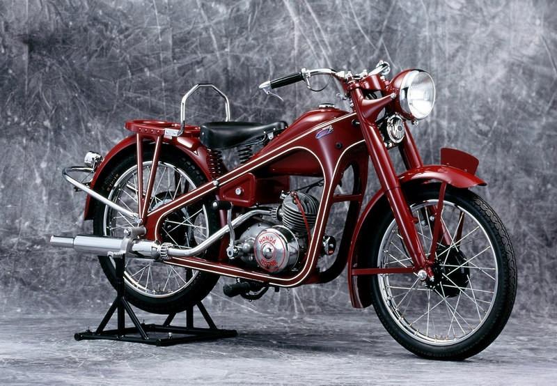 1949 honda dream D Type