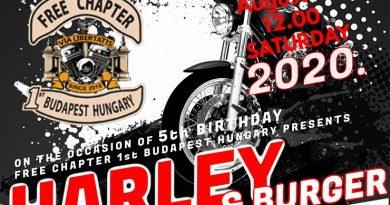 harley and burger bike show cimlap