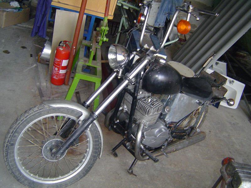 Jawa 635 chopper