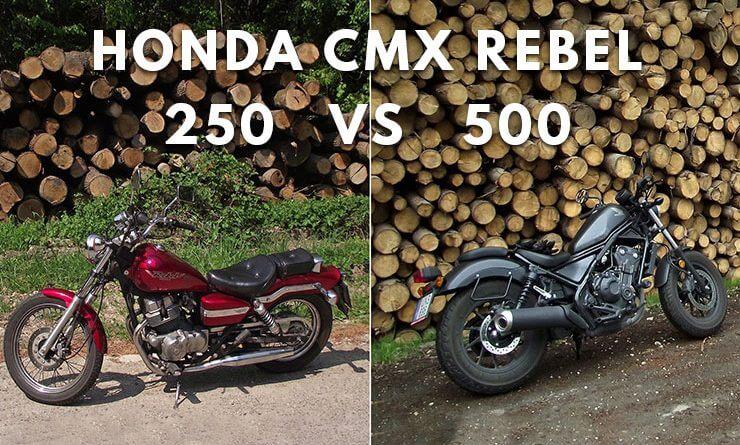 honda cmx 250 vs 500 rebel teszt 1