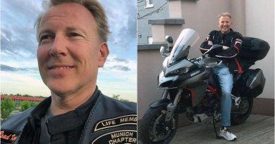 Otto von Hessen Ducati motorbaleset