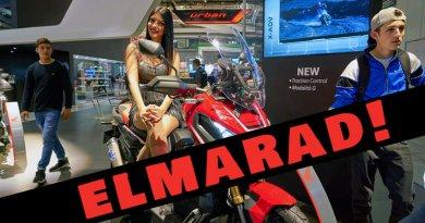 Elmarad az intermot, az EICMA és az AMD motorépítő világbajnokság is