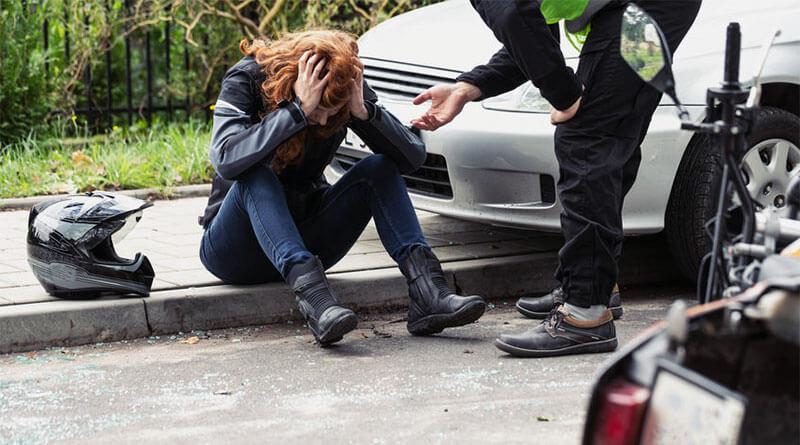 Motoros közlekedési baleset