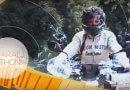 Molnár Csilla motoron Nyaralj Itthon