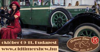 15. Oldtimer Show Budapest 2020