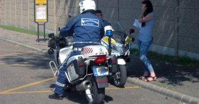 ORFK-OBB rendőrmotorkerékpár közbeszerzés
