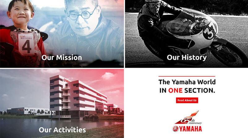 Yamaha 65. évforduló