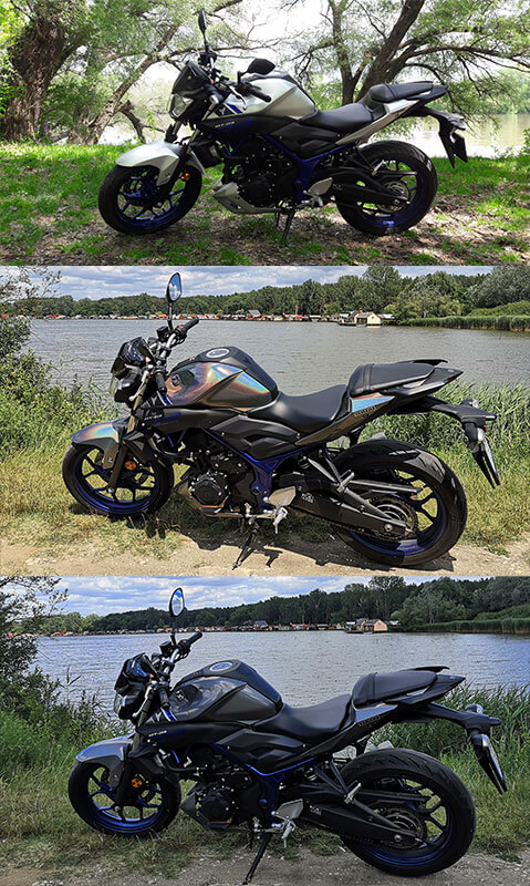 Csillápóni Projekt motorkerékpár fóliázás