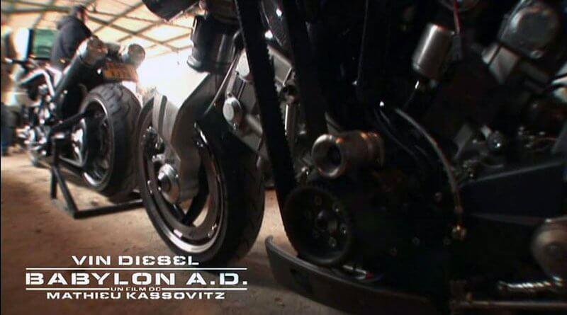 Babylon A.D. motoros film