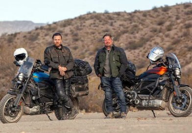 Ewan McGregor Charley Boorman Long way up Harley-Davidson LiveWire