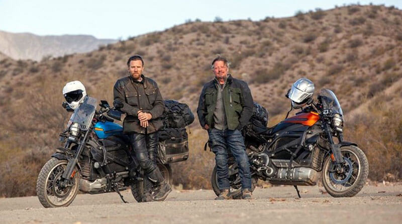 Ewan McGregor Charley Boorman Long way up Harley-Davidson LiveWire
